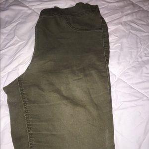 Navy pants form h&M